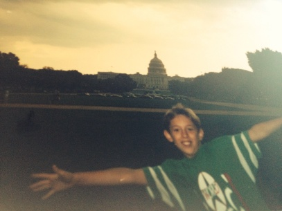 Sean takes over the White House - Washington D.C, 1992