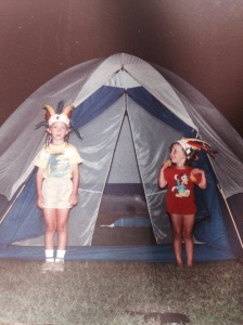 Camping, North Carolina  1987