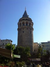 Galata Tower... see what I mean about looking like Rapunzel's Tower