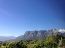 Heading to Stellenbosch