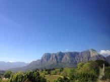 Heading to Stellenbosch