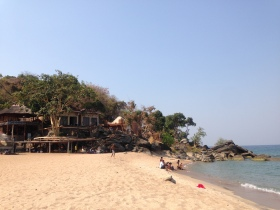 A nearby beach (walkable distance) from Mayoka Village
