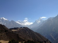 It wasn't just Everest that took my breath away...Ama Dablam, Lhotse, Lhotse Shar, Nuptse