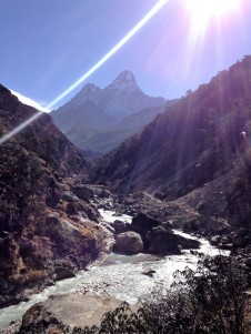 Ama Dablam Mountain. Known to be one of the most picturesque and photographed mountain in the Himalayas.