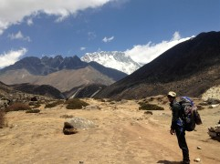 Heading into higher terrain now. Everything is getting barren, air is getting thinner, scenery is becoming epic!