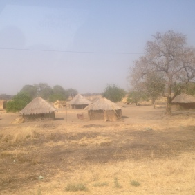 Driving in from the Namibia, Zambia border and headed towards Livingstone