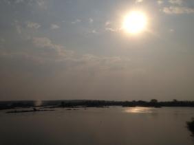 Zambezi River overlooking Vic Falls