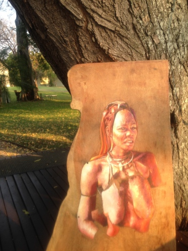 I met a girl travelling around Africa keeping herself funded through her extraordinary artistic talents