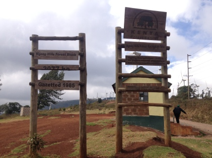 Going for a walk around the Ngong Hills