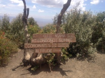 Highest point of the Mount Longonot