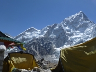 Made it to Gorak Shep, digs for the night at 5140m high...