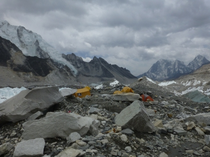 I went in April so there expeditions happening...I wonder how many of these tents were home to people about to attempt a summit?