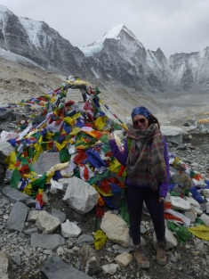 Everest Base Camp! I made it!